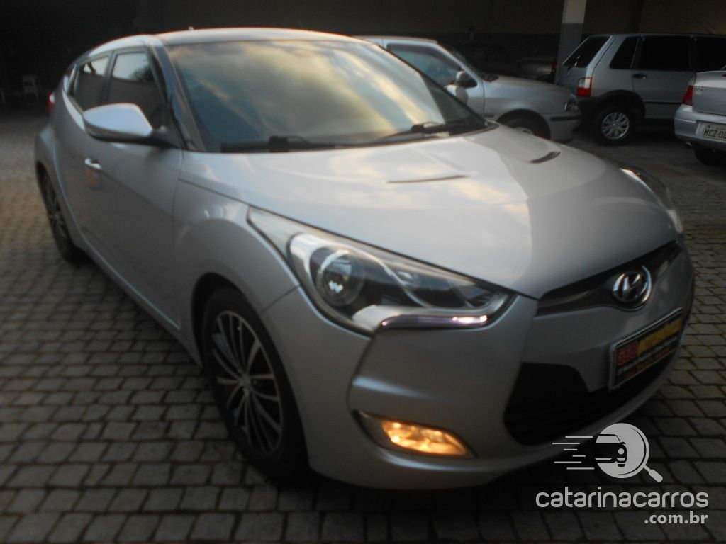 Veloster 1.6 top.  3P   2012