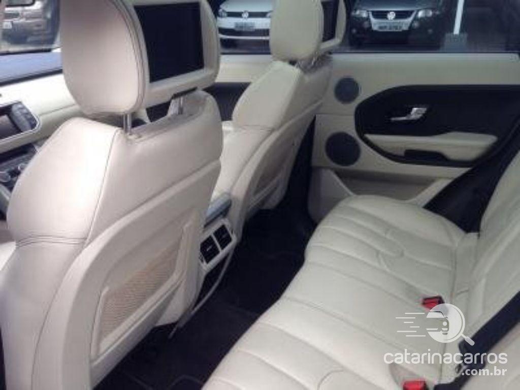 Range Rover Evoque 2.0 prestige tech  4P   2013