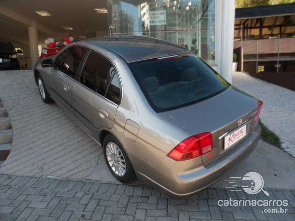 Civic Lx 16v gasolina 4p automático  4P   2001