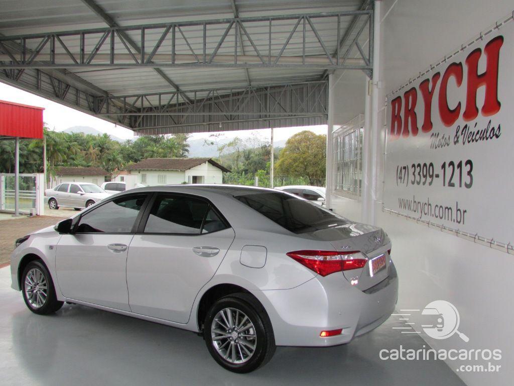 Corolla 2.0 xei 16v flex 4p automático  5P   2016