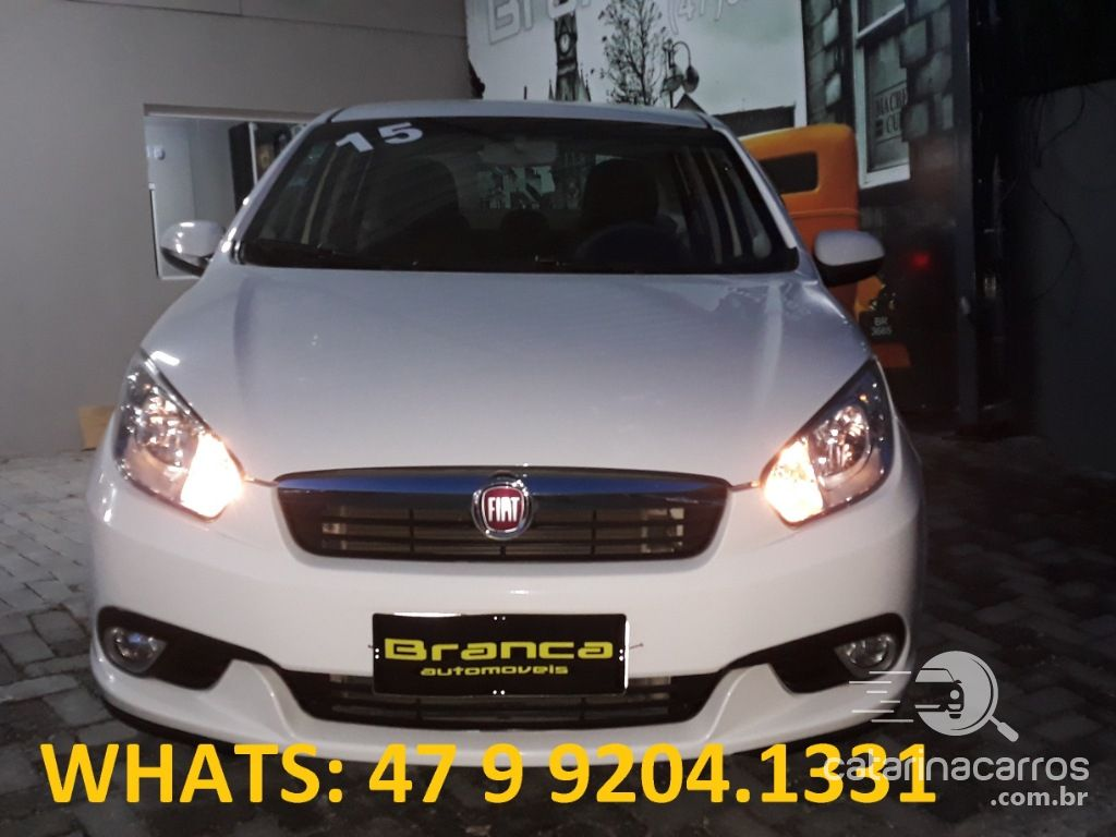 Grand Siena Grand siena 1.4 mpi attractive 8v flex 4p manual 2015  4P   2015