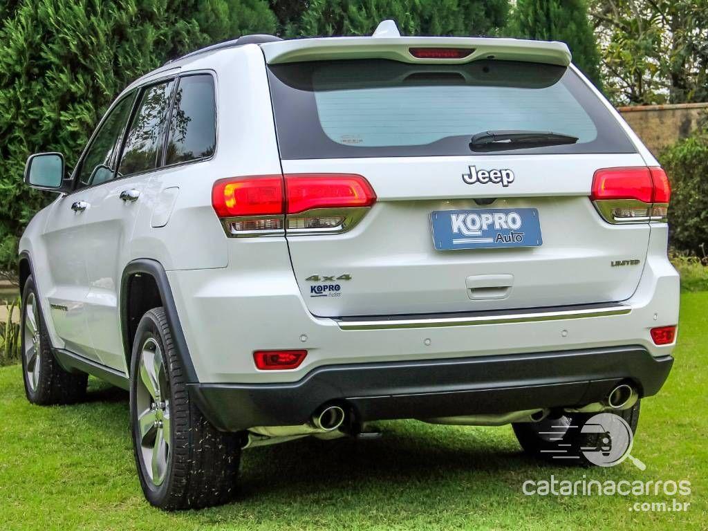 Cherokee Grand cherokee 3.6 limited 4x4 v6  4P   2015