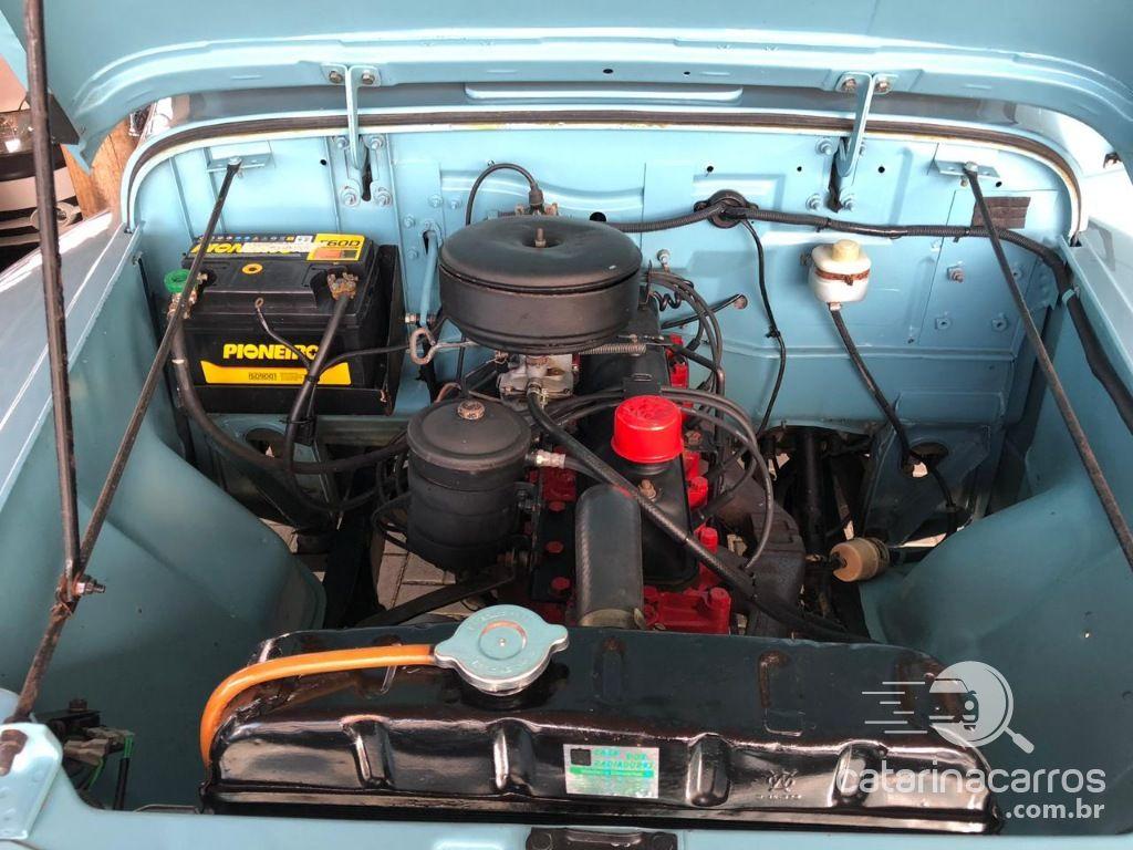 F-75 4x4 impecável  2P   1967